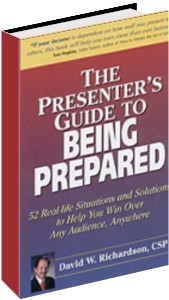 The Presenter's Guide to Being Prepared