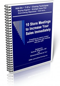 10 Store Meetings to Increase your Sales Immediately